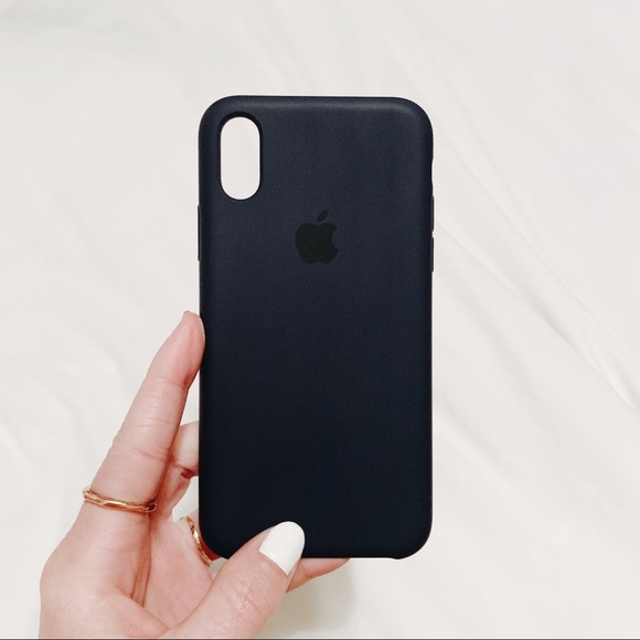 new styles 3a1bf 66c06 Apple iPhone X/XS Silicone Case- Midnight Blue